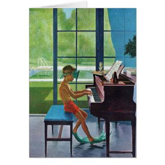 Cartes Pratique en matière de piano de Poolside