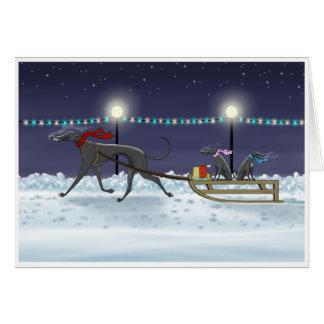 Cartes Premier Noël de chiots