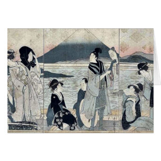Cartes Premier rêve par Kitagawa, Utamaro