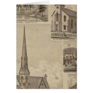 Cartes Première église d'Universalisty, Minneapolis,