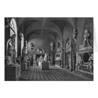 Cartes Première vue de la salle du 17ème siècle