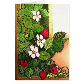 Cartes Premières fraises de ressort
