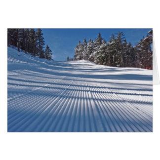 Cartes Premières voies de ski