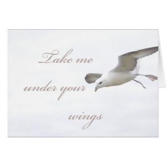 Cartes Prenez-moi sous vos ailes