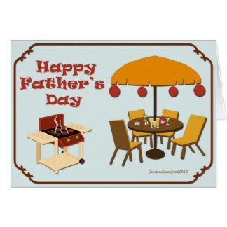 Cartes Préparez pour griller la fête des pères