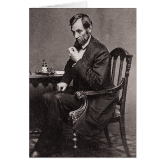 CARTES PRÉSIDENT ABRAHAM LINCOLN 1862 STEREOVIEW