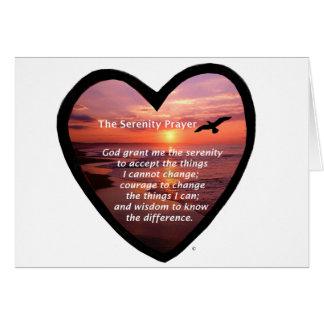 Cartes Prière de sérénité