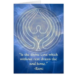 Cartes Prière-Rumi et art poétique