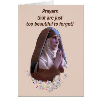 Cartes Prières trop belles pour oublier