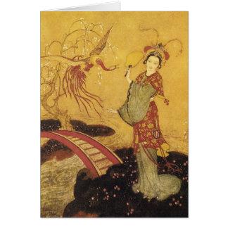 Cartes Princesse Badoura Dulac Art Card
