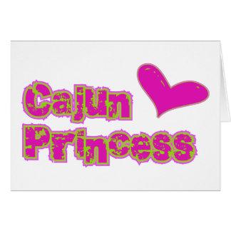 Cartes Princesse de Cajun