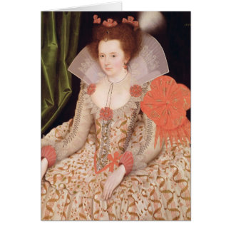 Cartes Princesse Elizabeth, fille de James I, 1612