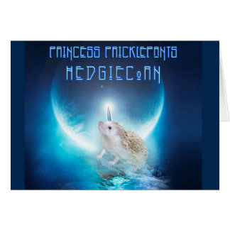Cartes Princesse Pricklepants HedgiCorn