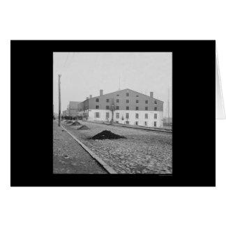 Cartes Prison de Libby à Richmond, VA 1865