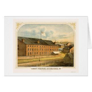 Cartes Prison de Libby, par E. Sachse & Company 1865