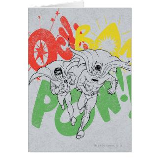 Cartes prisonnier de guerre Batman et Robin de la