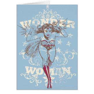 Cartes Prisonnière de guerre de femme de merveille
