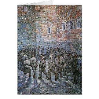 Cartes Prisonniers s'exerçant par Vincent van Gogh