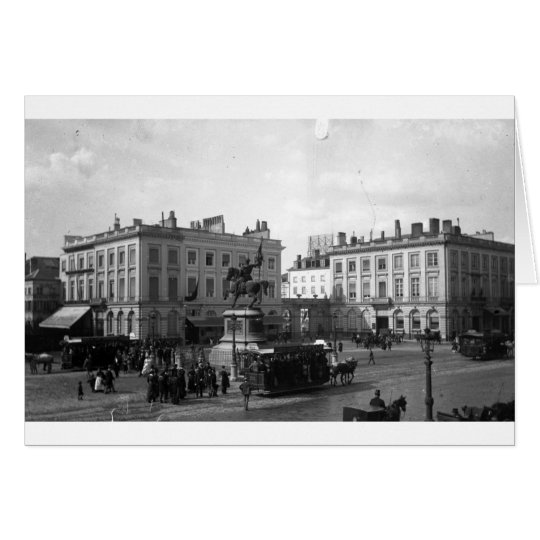 CARTES PRIVAT LIVEMONT BRUXELLE PLACE ROYALE 1900