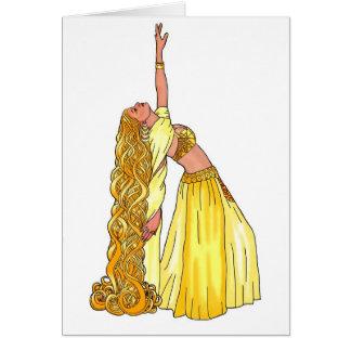 Cartes Produits de danseuse du ventre de Godiva