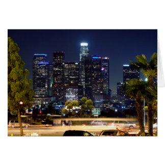 Cartes Produits de papier de nuit de Los Angeles