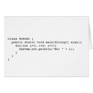 Cartes Programatic Ho ! Ho ! Ho !