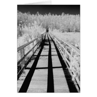 Cartes Promenade de sanctuaire de marais de tire-bouchon,