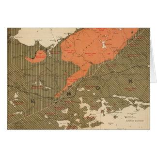 Cartes Province d'île de la Nouvelle-Écosse du Breton 3