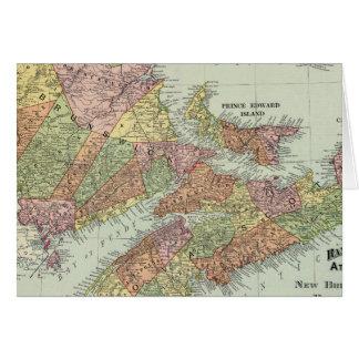 Cartes Provinces maritimes du Canada