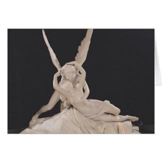 Cartes Psyché rétablie par le baiser du cupidon 1787-93