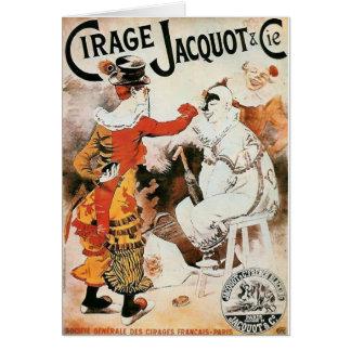 Cartes Publicité de cirque