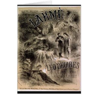 Cartes Publicité par affichage 'Lakme