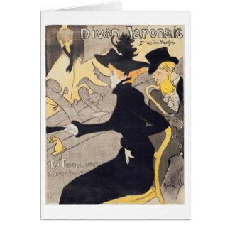 """Cartes Publicité par affichage """"Le Divan Japonais"""", 1892"""