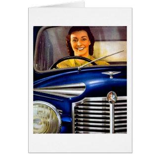 Cartes Publicité vintage de moteurs de Vauxhall