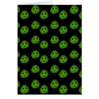 Cartes Puce d'aneth, motif de visage de Mr.Pickle