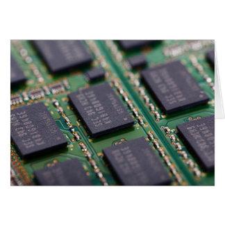 Cartes Puces de mémorisation par ordinateur