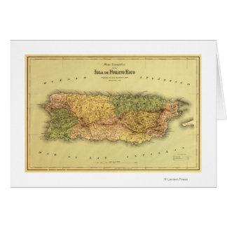 Cartes Puerto RicoPanoramic MapPuerto Rico