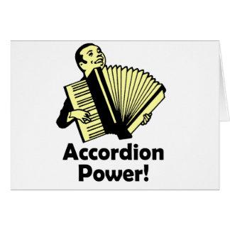 Cartes Puissance d'accordéon !
