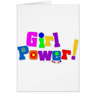 Cartes Puissance de fille