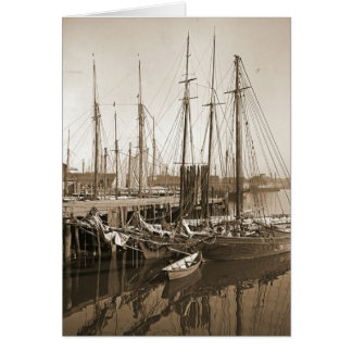 Cartes Quai 1905 de Gloucester le Massachusetts