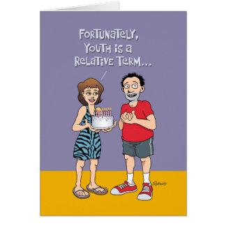 Cartes Quarante-cinquième salutation drôle d'anniversaire