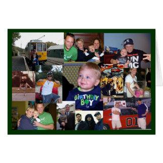 Cartes Quarantième anniversaire de Craigs