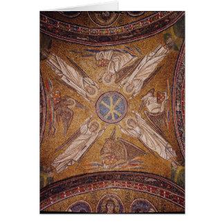 Cartes Quatre anges avec les symboles du