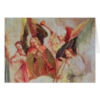Cartes Quatre anges jouant des instruments