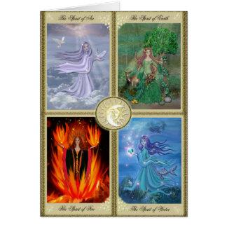 Cartes Quatre éléments