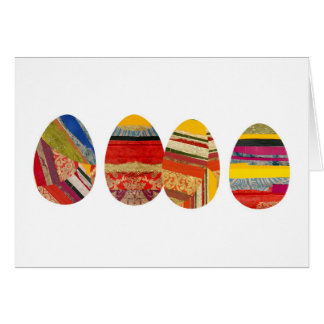 Cartes Quatre oeufs pour Pâques