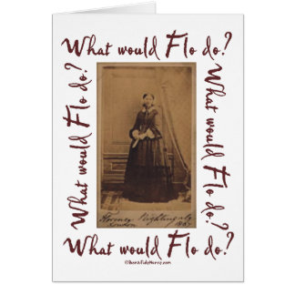 Cartes Que Flo ferait-il ? Florence Nightingale