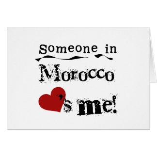 Cartes Quelqu'un au Maroc m'aime