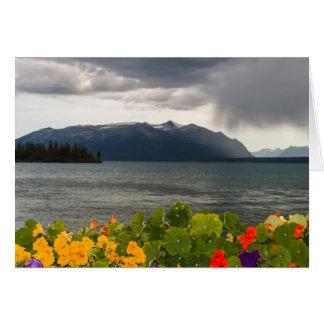 Cartes Rafale sur le lac Atlin, AVANT JÉSUS CHRIST (blanc