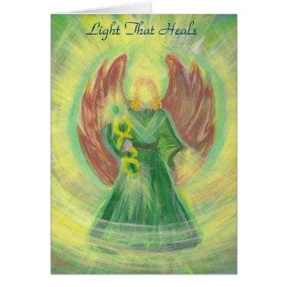 Cartes Raphael d'Arkhangel : La lumière qui guérit